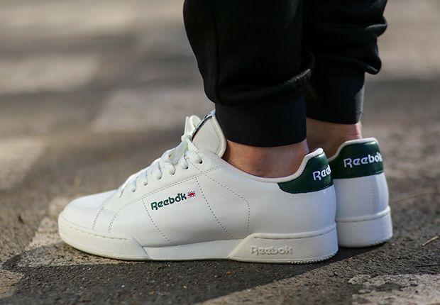 Reebok NPC Vintage - White - Green - SneakerNews.com