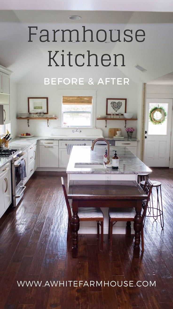 Check Out Our 1910 Farmhouse Kitchen Renovation Farmhouse Kitchen Diy Kitchen Furniture Home
