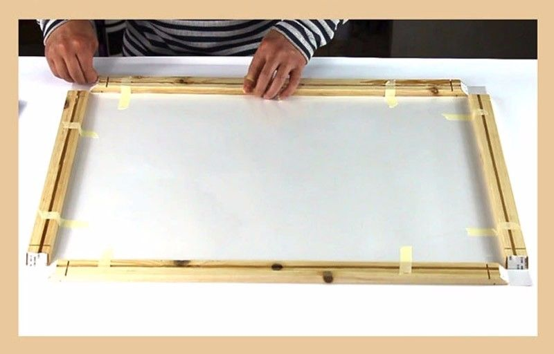 Diy wood frame for canvas in 2020 diamond painting