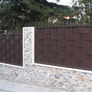 Vallado exterior casa decoraci n ddelao in 2019 vallas - Puertas metalicas jardin ...