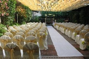 Southern California Wedding Venue A Pretty Patio In Pasadena