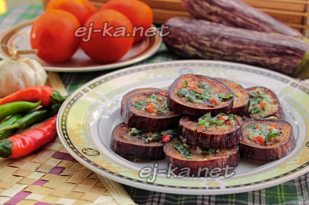 Баклажаны по-грузински: самый вкусный рецепт пошагово с ...