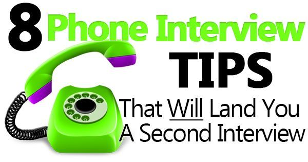 The Interview Guys present 8 great phone interview tips to help you