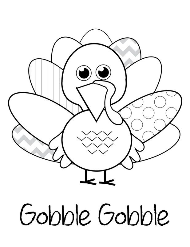 free printable coloring pages of thanksgiving | 10 SMART ideas for a FABULOUS Thanksgiving! | Thanksgiving ...
