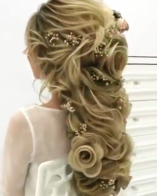 Wonderful Bridal Hair Styles