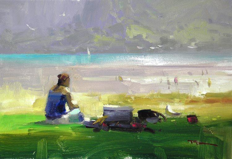 Richard Robinson Study A Quiet Spot