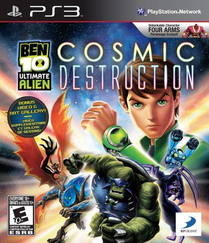 Ben 10 Ultimate Alien Playstation 3 More Info Could Be Found At The Image Url Note It Is Affiliate Link To Amazon Ben 10 Ultimate Alien Ben 10 Alien