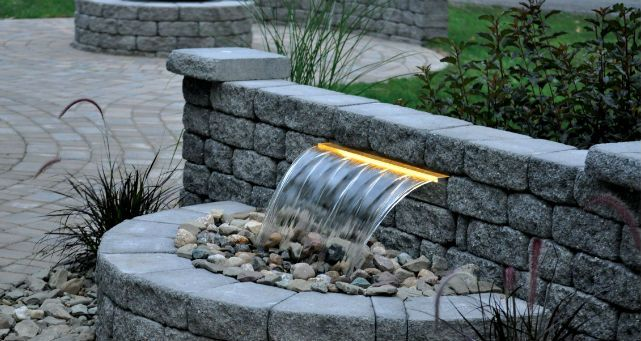 Back Yard Drainage Systems   Backyard Waterfall  Toemar ...