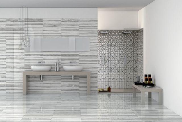 Keramik Bad Fliesen Marmor Optik Weiss Grau Ideen Rund Ums Haus