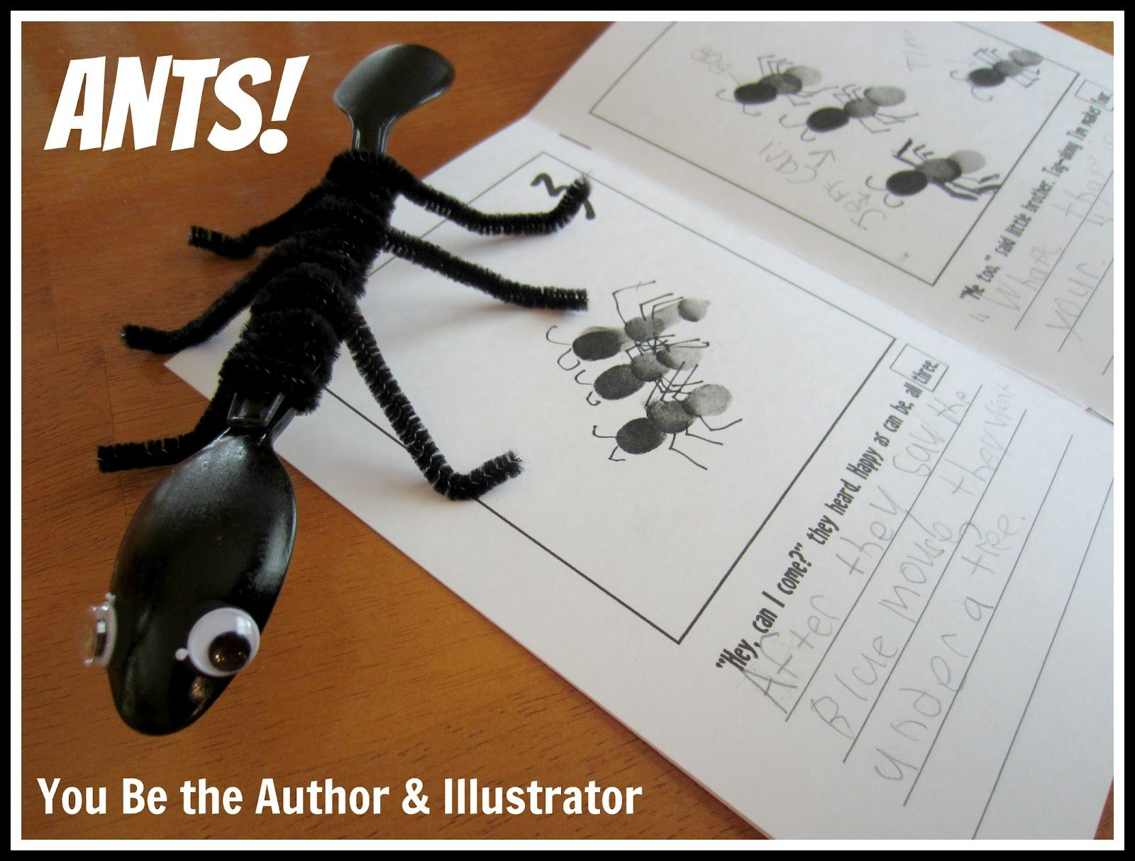 Have Your Child Complete A Book About Ants