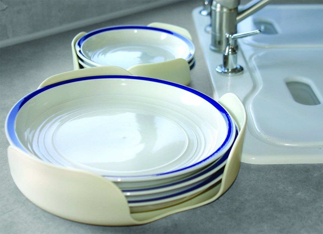 White Camco 43601 Stack-A-Plate