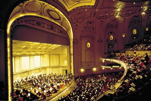 St Louis Missouri The Acclaimed St Louis Symphony Performs Summer Through Fall In Powell Symphony Hall St Louis Louis St Louis County