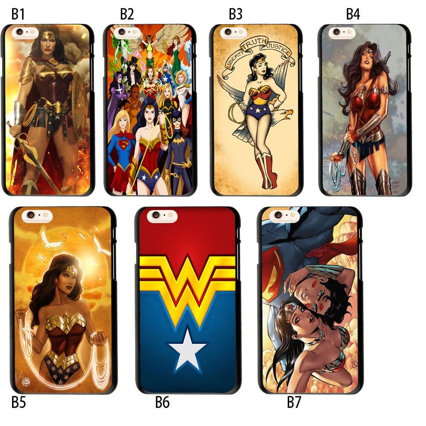 All Female Justice League! Wonder Woman Case Cover For iPhone 7 6 ...