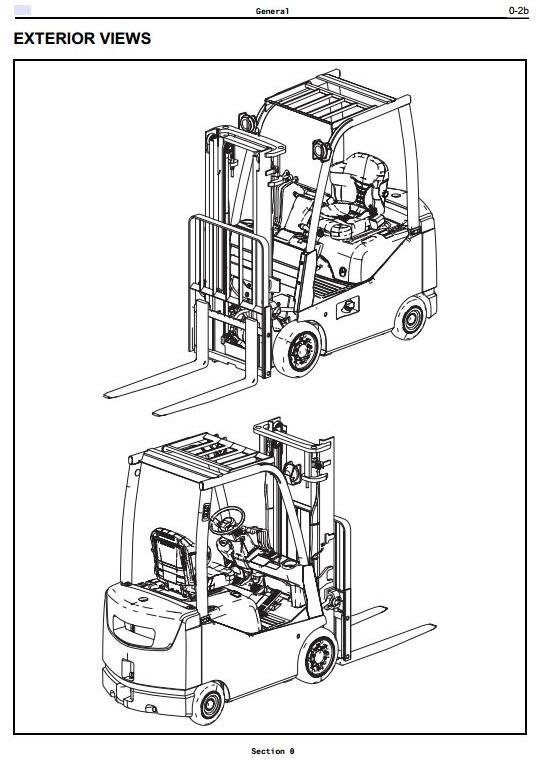 original illustrated factory workshop manual for toyota toyota forklift 7 series repair manual