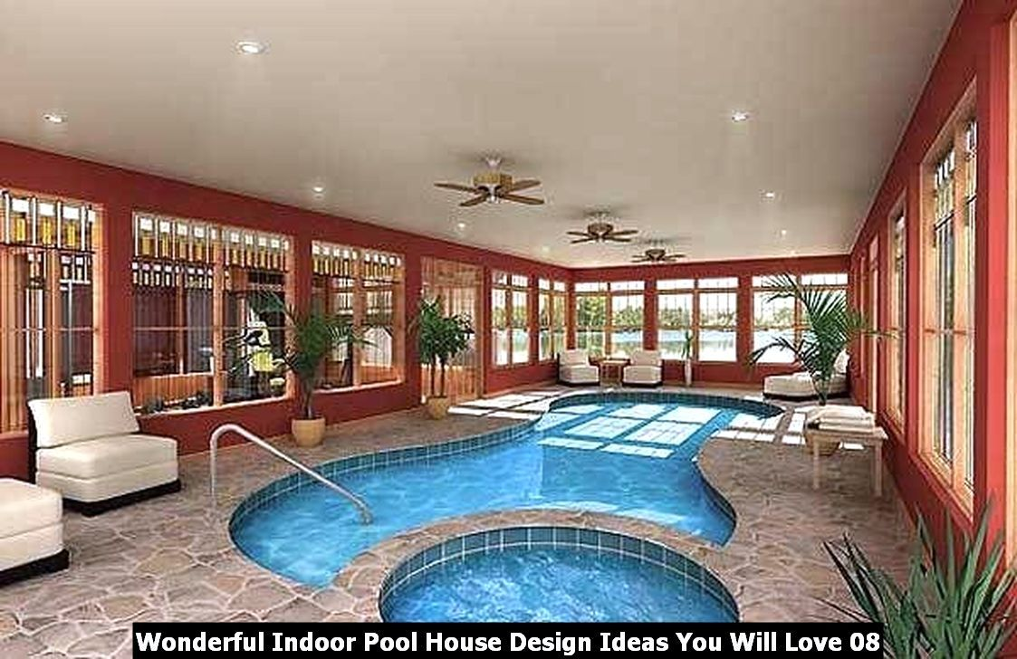 Wonderful Indoor Pool House Design Ideas You Will Love In 2020 Pool House Plans Indoor Swimming Pool Design Indoor Pool Design