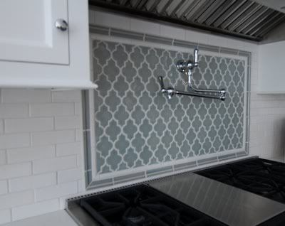 Lantern Tile Backsplash | ... countertop to go with this backsplash -  Kitchens Forum