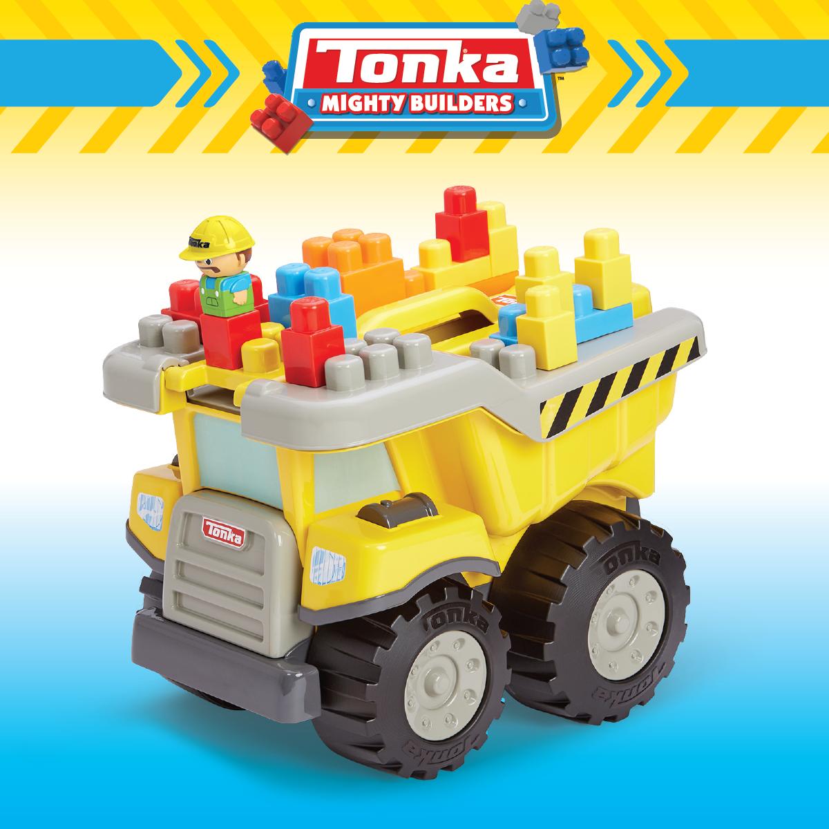 Tow N Go >> Kids Work Tonka Tow N Go Tuff Truck 25pc Fun With Tonka Trucks