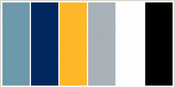 Black White Light Grey Navy Blue Medium Blue And Golden Yellow