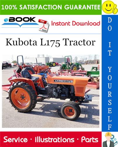 Kubota L175 Tractor Parts Manual Tractors Kubota Tractor Parts
