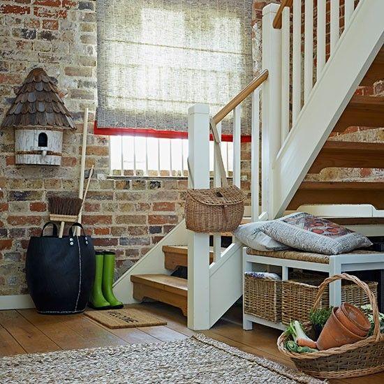 Flur Diele Wohnideen Möbel Dekoration Decoration Living Idea Interiors home corridor - Rustikaler Land Flur