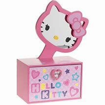 6364c69e1 Sanrio Hello Kitty · Earring Jewelry Box, Kids Jewelry Box, Large Jewelry  Box, Musical Jewelry Box,