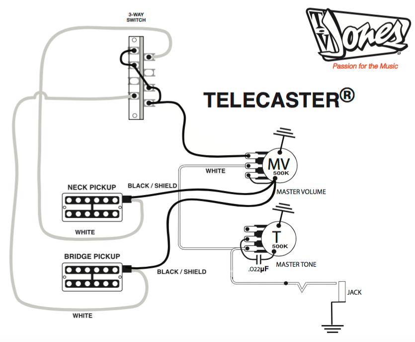 telecaster wiring diagram mods