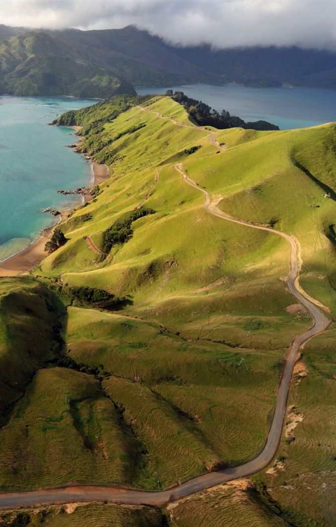 Malborough Sound, New Zealand