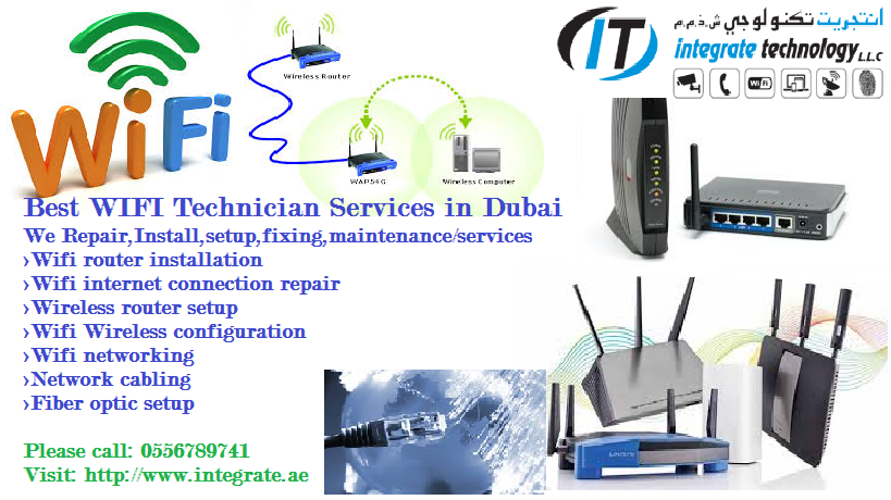 WIFI WIRELESS ROUTER INSTALLATION SETUP SERVICE MAINTENANCE