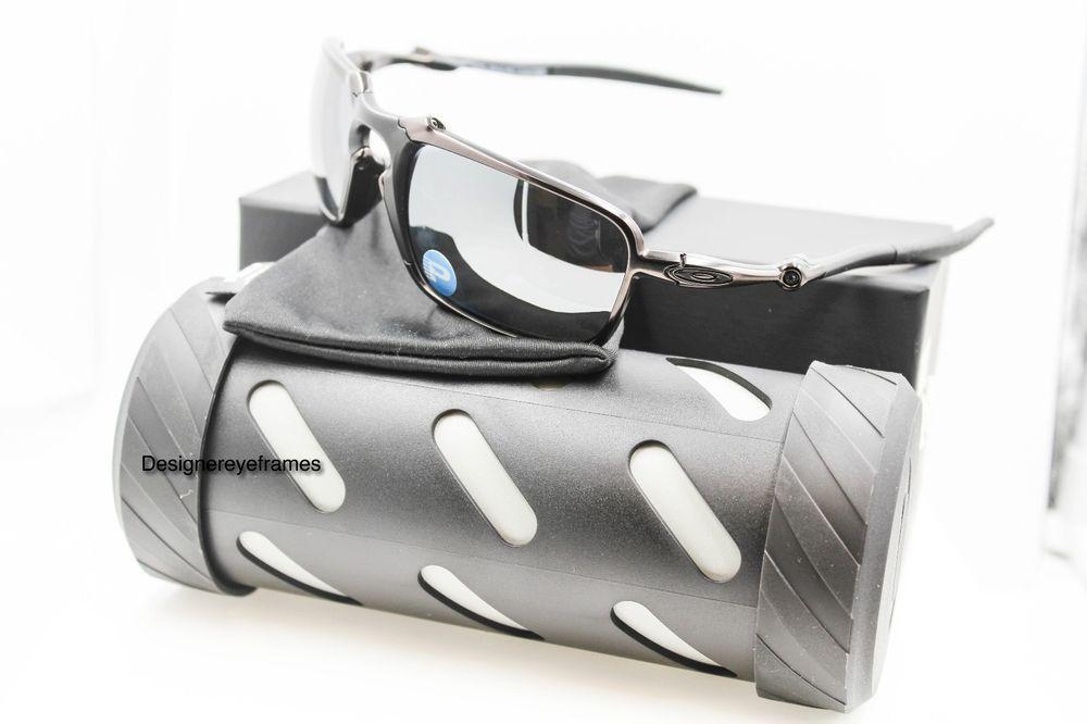 8f0c7dd0ac OAKLEY OO 6020-01 BADMAN Dark Carbon Black Iridium Polarized Sunglasses NWT  AUTH  Oakley