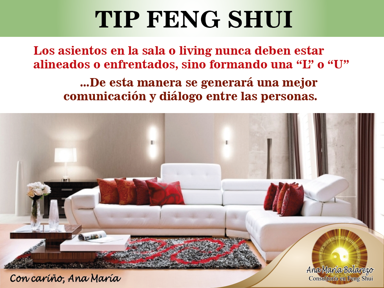 Tipfengshui la posici n de los muebles de tu sala for Como colocar los espejos segun el feng shui