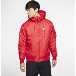 Photo of Nike Sportswear Windrunner wendbare Herrenjacke mit Kapuze – Rot NikeNike