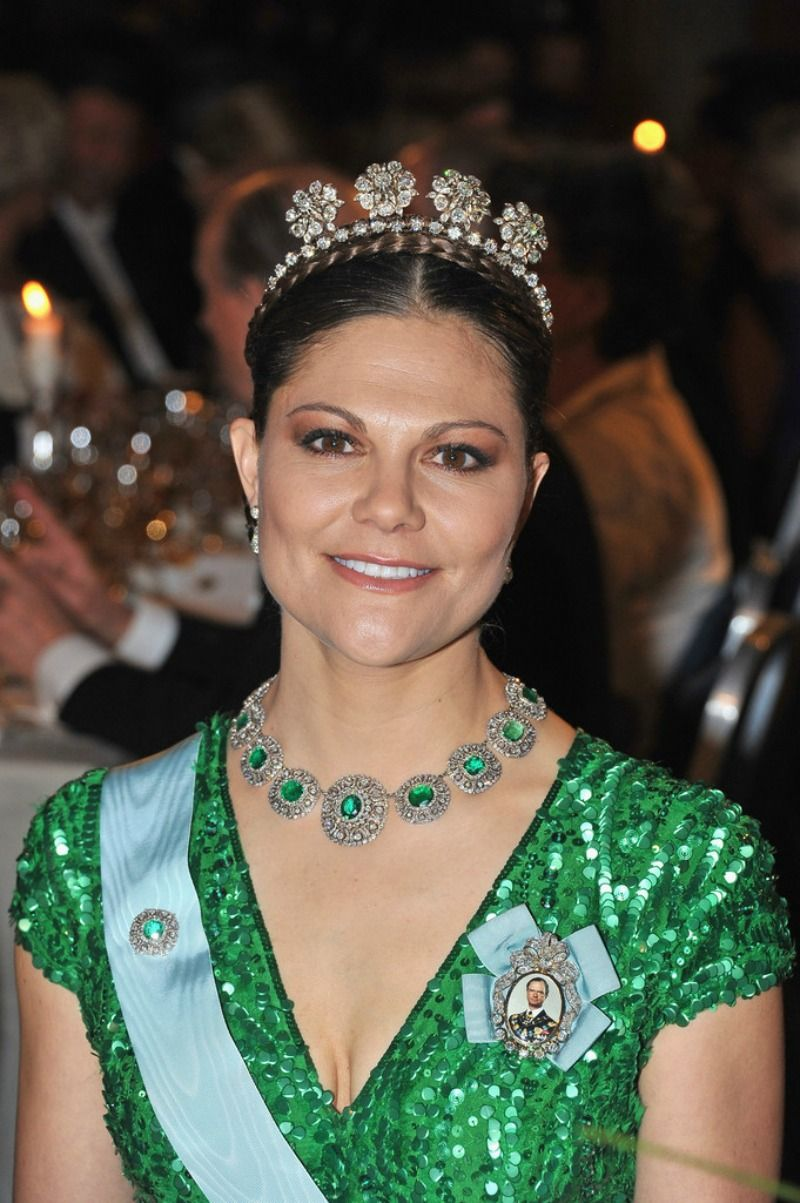 Swedish Crown Braid Tutorial: Princess Victoria Photos Photos: Nobel Banquet