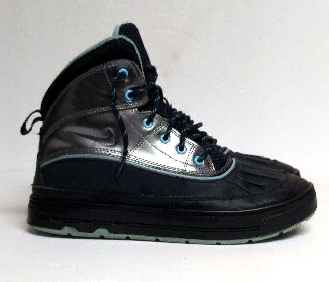 Nike Woodside 2 High ACG Boot Navy Blue Youth 6.5 Women s 8 Shoes  524876-400  Nike c072627af