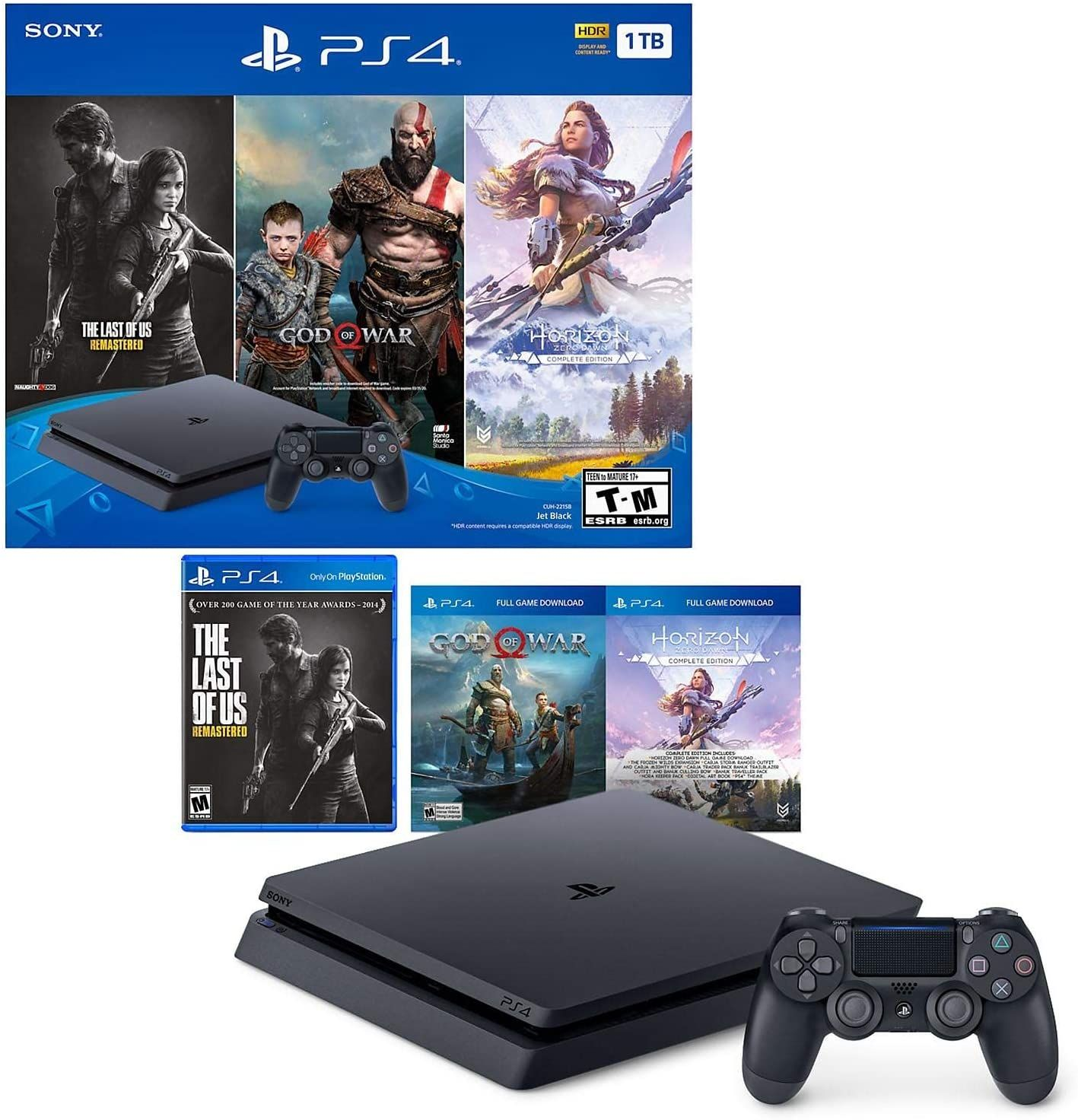 PLAYSTTION 4 SLIM 1 TB CONSOLE in 2020 Playstation 4