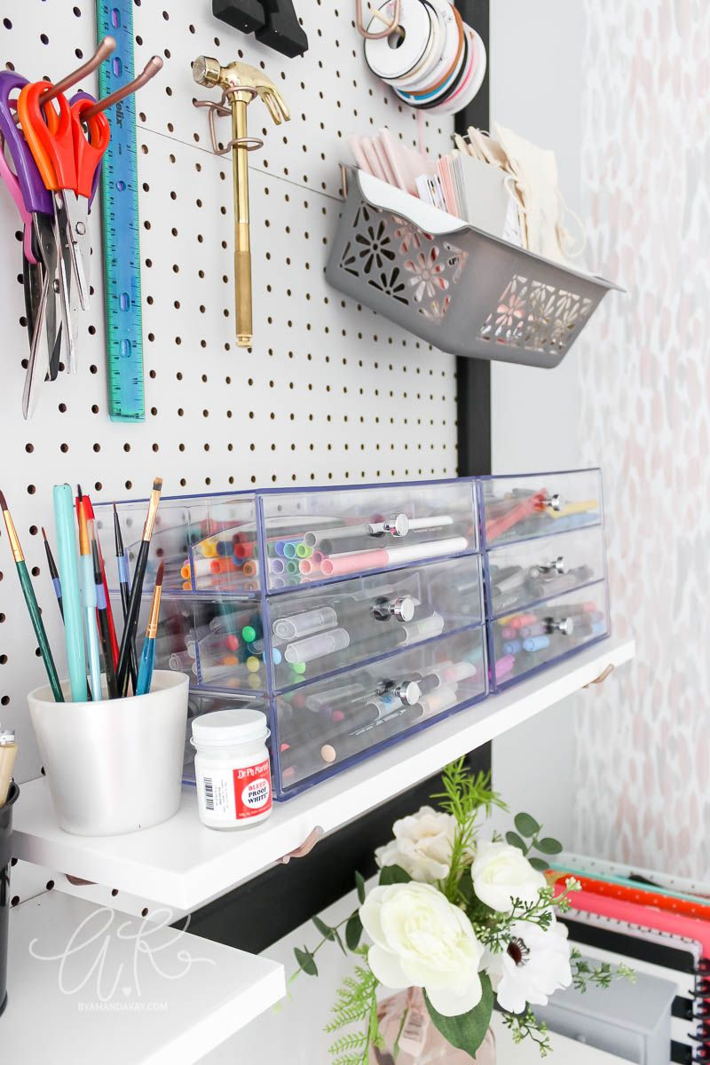 How To Organize Lettering And Watercolor Supplies Art Supplies