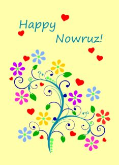 Happy nowruz with spring flowers and love from our home to yours happy nowruz with spring flowers and love from our home to yours greeting card m4hsunfo