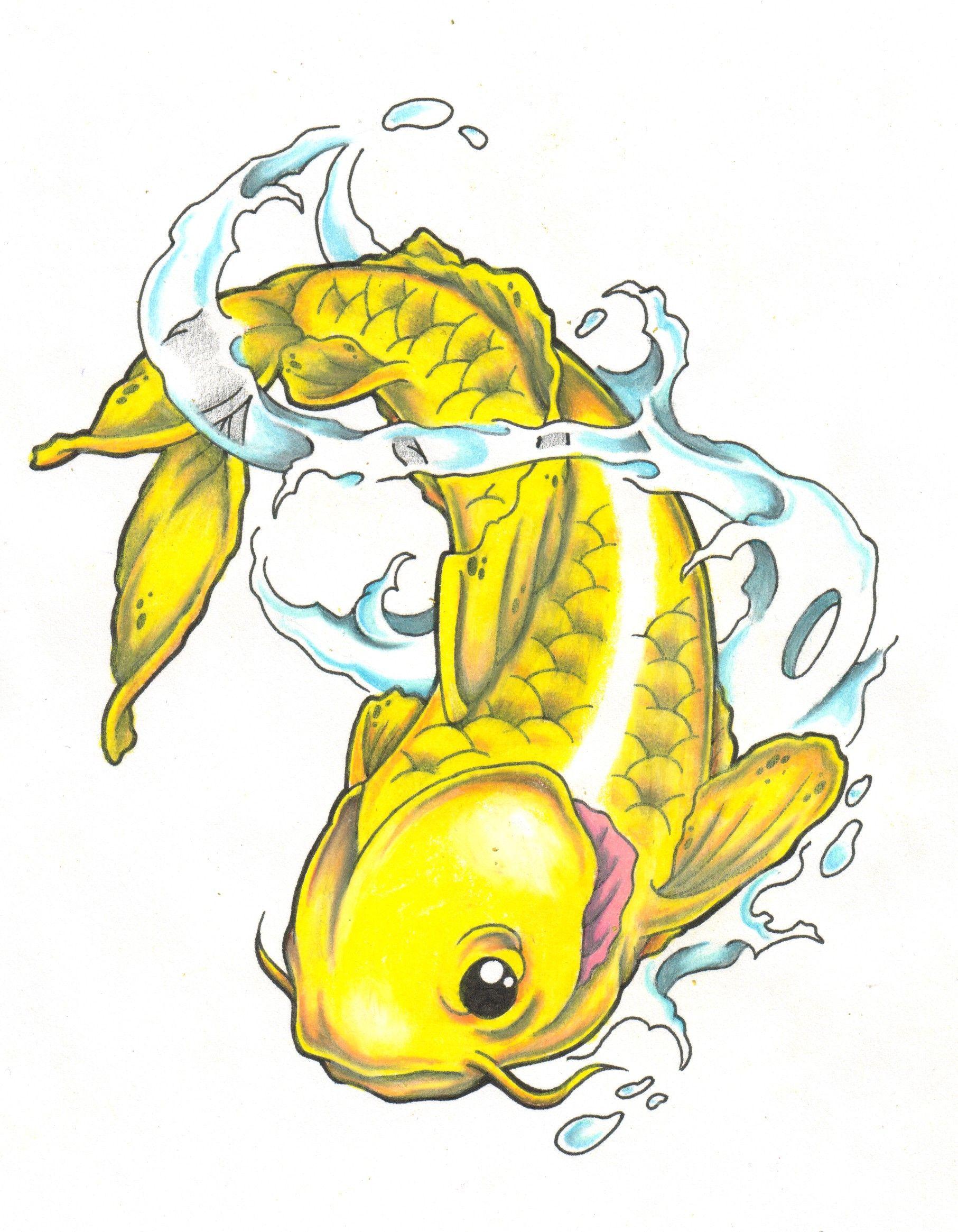 Koi Fish Tattoo Designs | Visionets. | coi fish | Pinterest ...