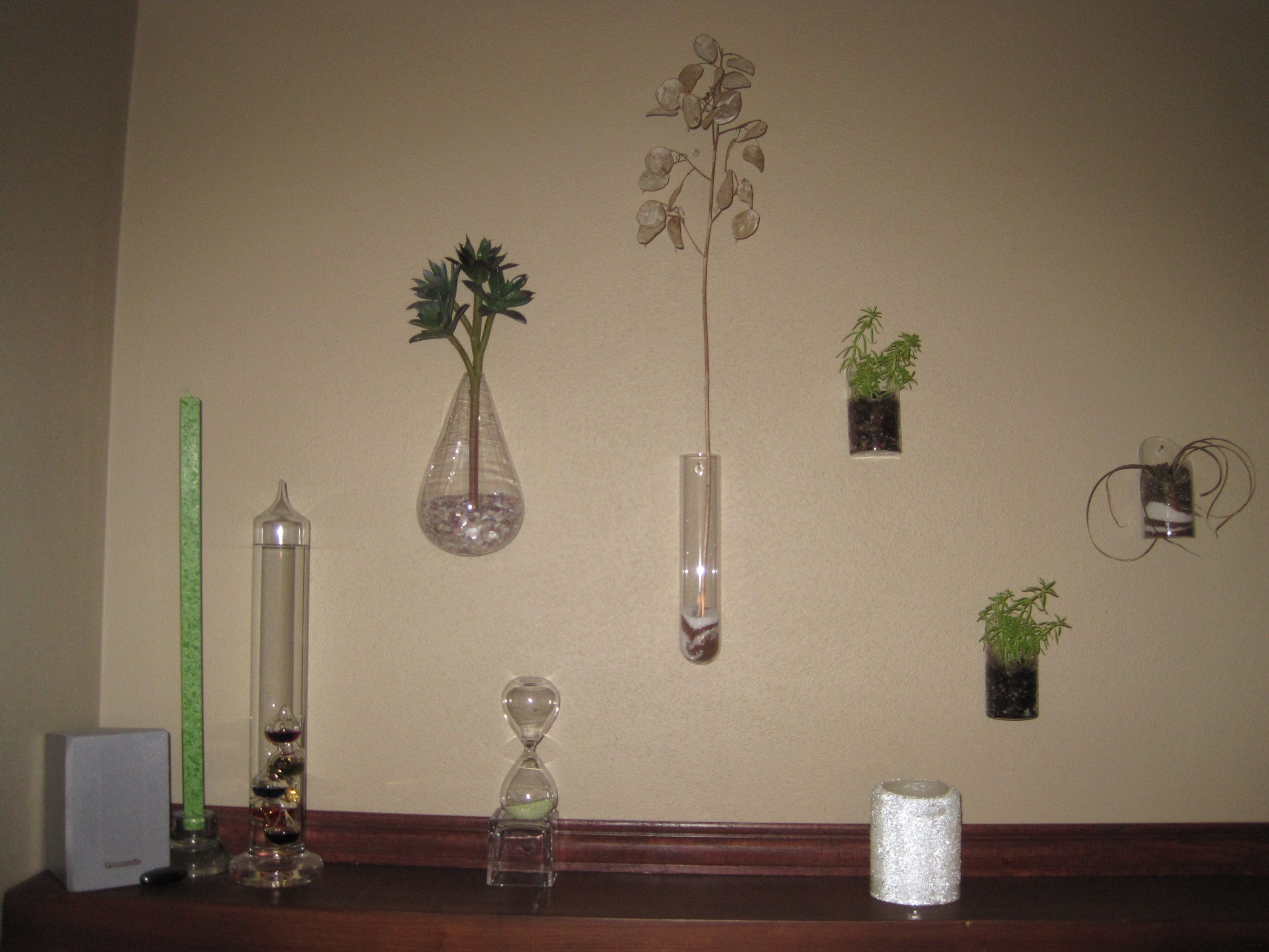 glass vases from CB2