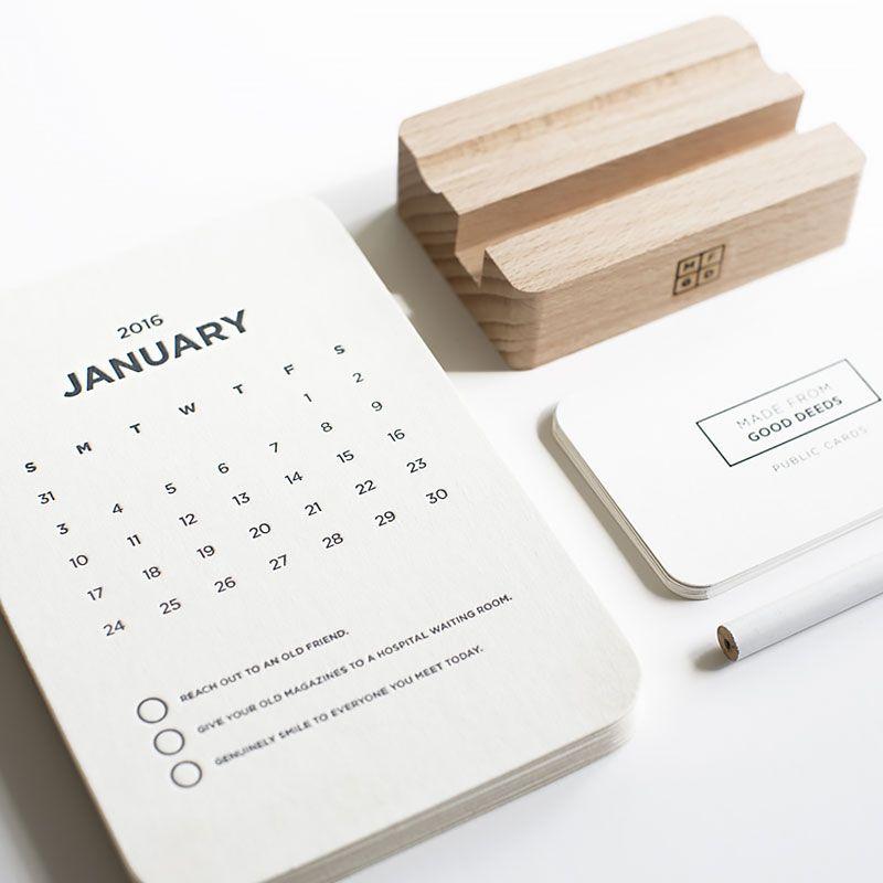 Japanese Calendar Design : Calendar design and desk calendars