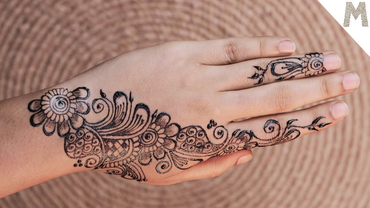 Easy Simple Mehndi Design Back Hand Mehndi Designs Pictures 2019 Mehe Mehndi Designs For Hands Mehndi Designs Simple Arabic Mehndi Designs