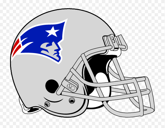 New England Patriots 1993 Helmet First Year With The Current Flying Elvis Logo And Only Year With A Silver Facema New England Patriots Patriots New England
