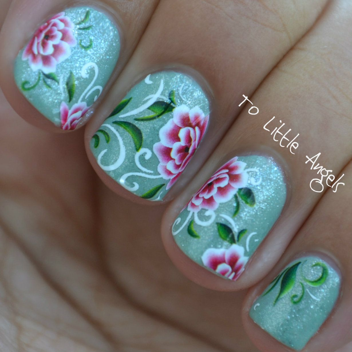 nail #art #water #decal #sticker #ToLittleAngels #ebay #store ...