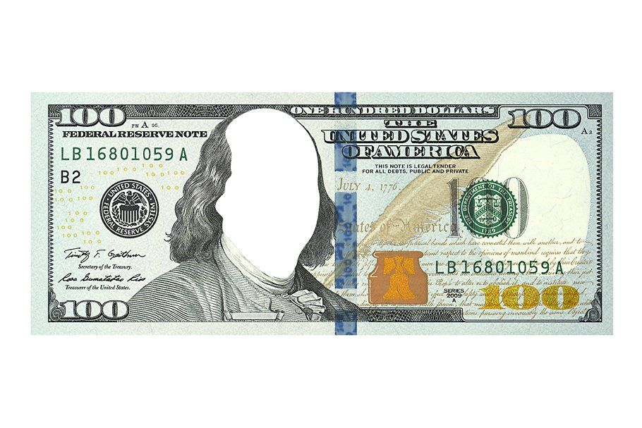 Dollar Bill Template Photoshop