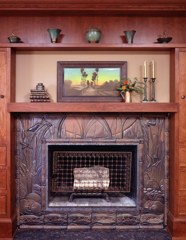 Revival Hearths - Arts & Crafts Homes and the Revival — Arts & Crafts Homes and the Revival #craftsmanstylehomes