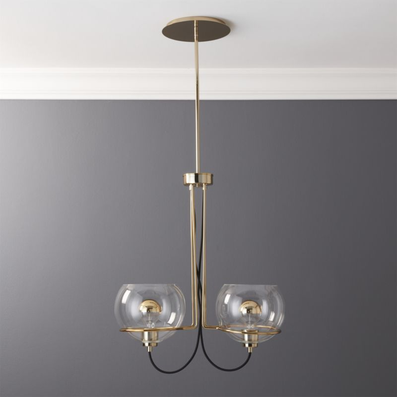 Cb2 rest double pendant light pendant lighting pendant lamps and cb2 rest double pendant light aloadofball Gallery