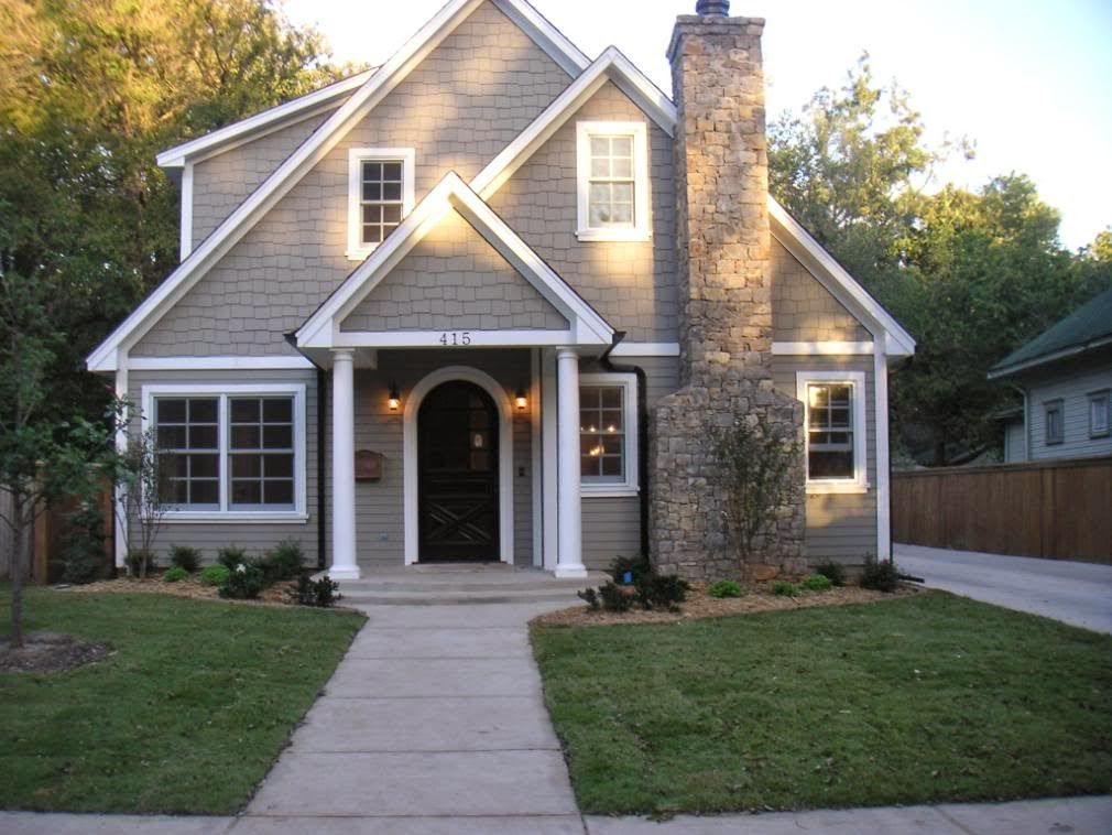 What Color To Paint House briarwood, iron ore, whisper white {exterior paint} (favorite