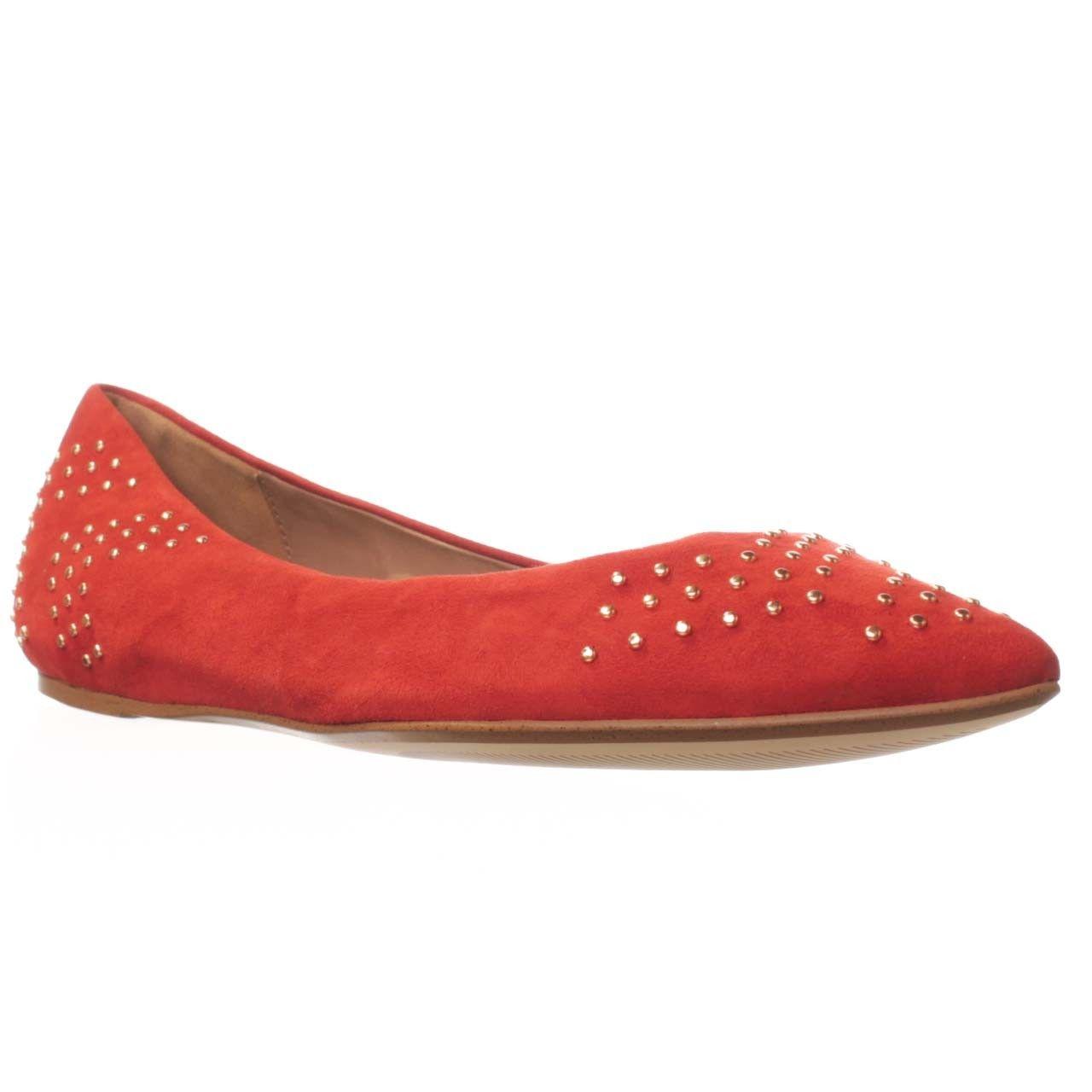 Ella Moss Savan Pointed-Toe Flat - Carmine $59
