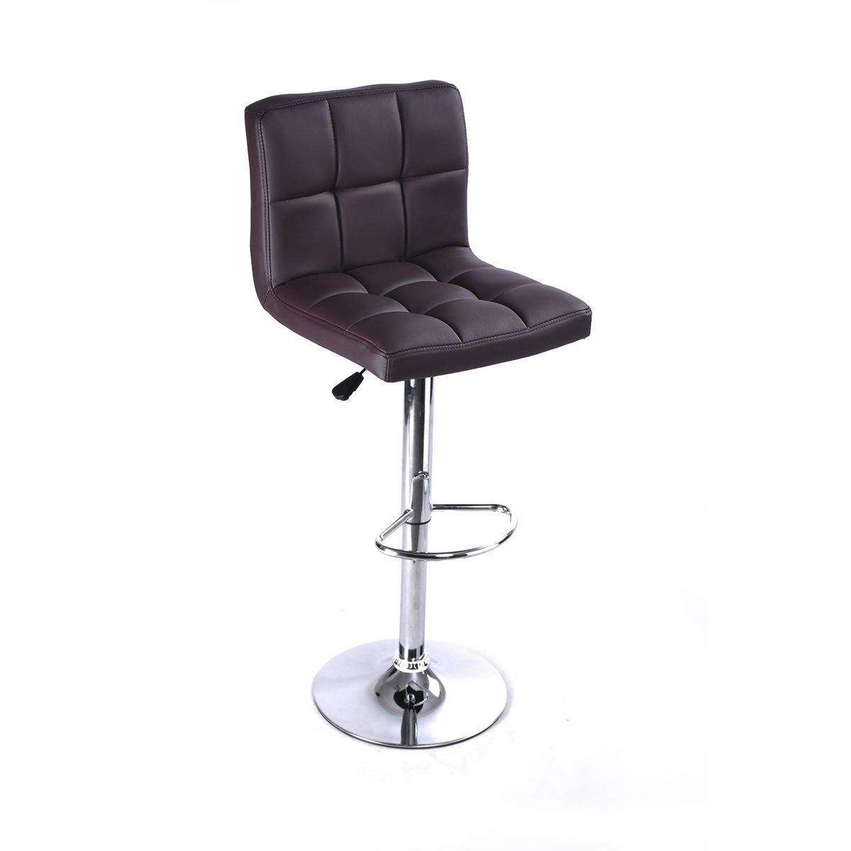 Our bar stools, which will perfectly decor your living room and also add an contemporary touch to your office, bar or restaurant. In addition it is an ideal solution when you have guests over for drinks or dinner. It has a ergonomic back design, cushioned seat, and a wivel design that makes it stylish yet comfortable at the same time. #freeshipping