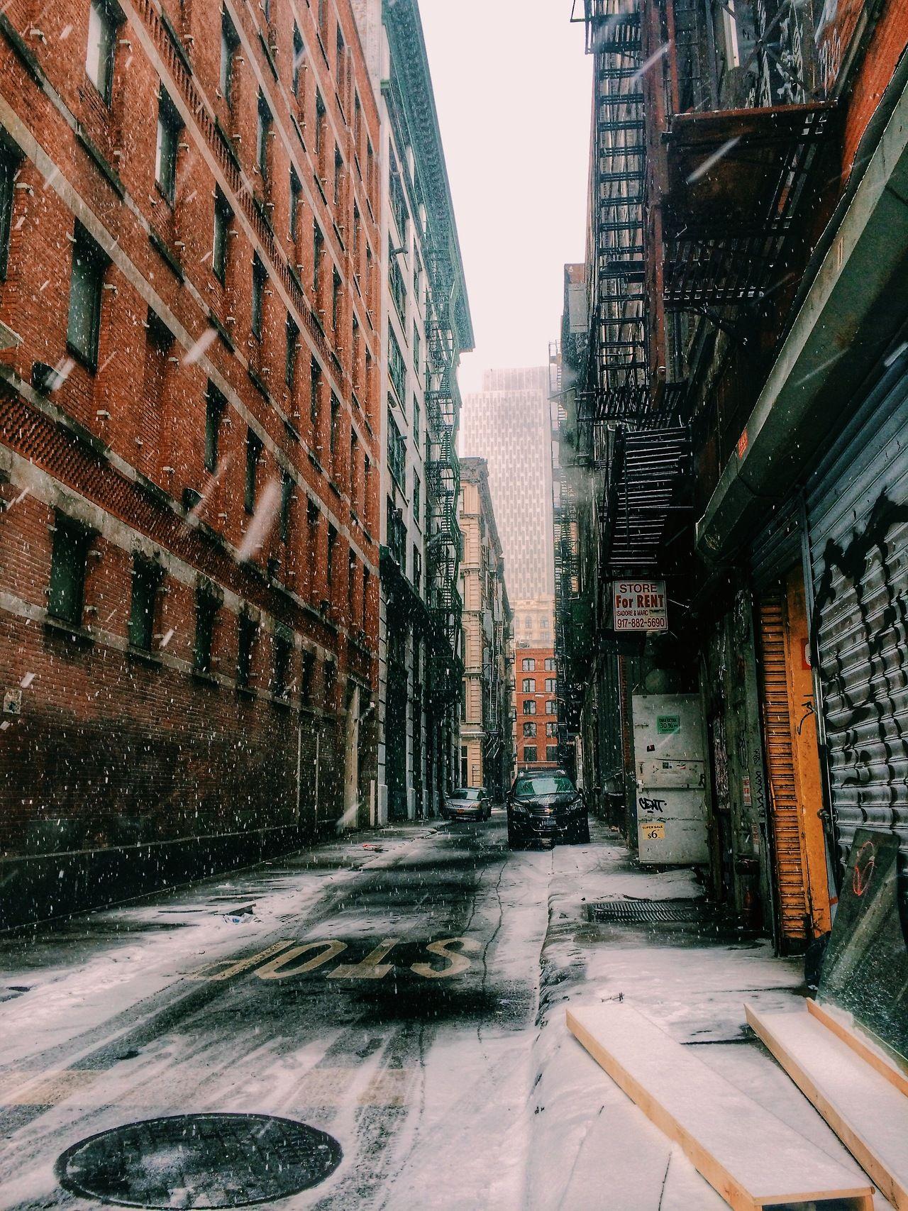 Snowy City Street City Streets Photography Urban Landscape Landscape Photography