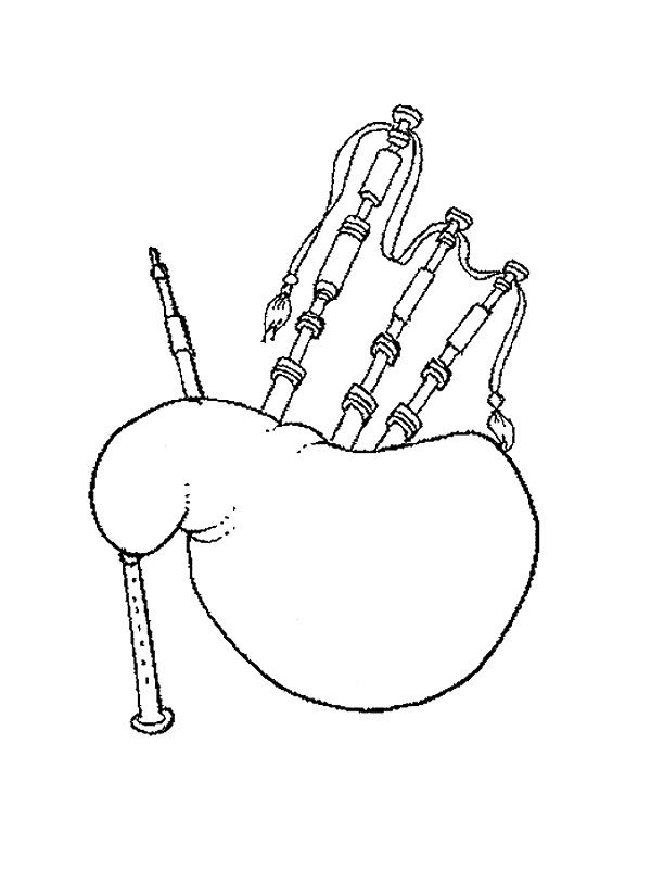 coloring page Musical Instruments Kids-n-Fun #musicalinstruments